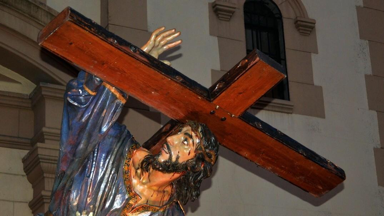 Resultado de imagen de jesus en su tercera caida zamora