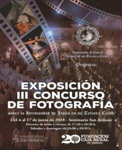 Cartel 3 Exposición Concurso Fotografia