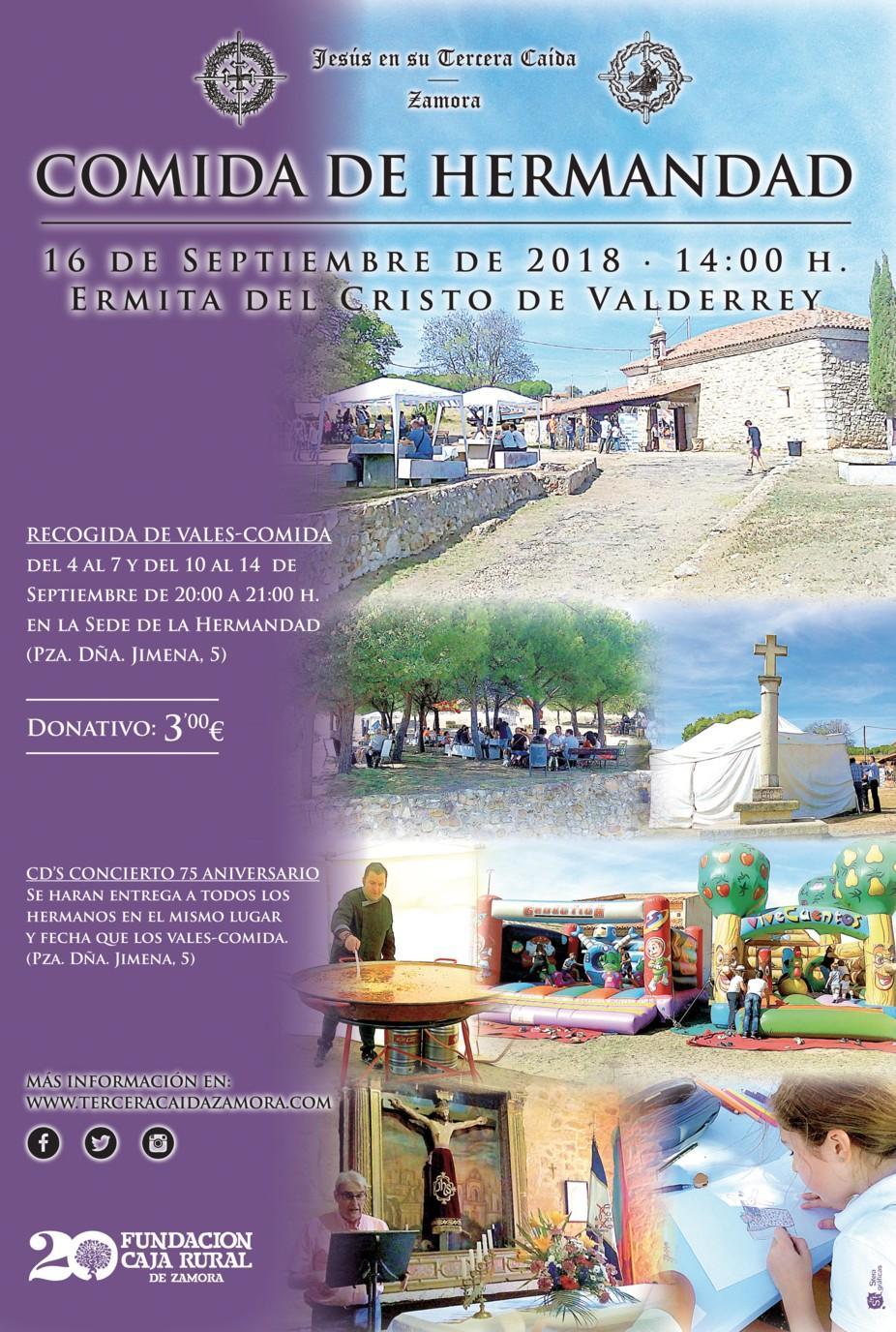 Cartel A4 Comida Hermandad 2018 10