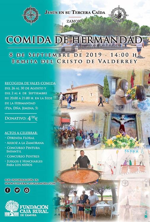 Cartel Comida Hermandad 2019