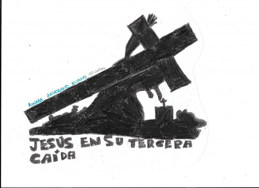 04 Jesús caído. Ainara Zamorano Ruano.