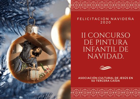 II CONCURSO DE PINTURA INFANTIL DE NAVIDAD. FELICITACION NAVIDEÑA 2020